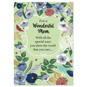 Wonderful Mom Mother's Day Card