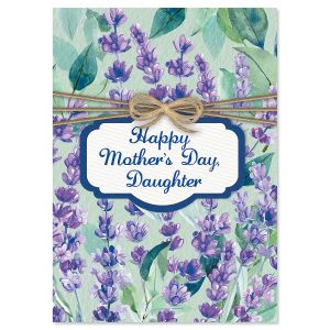 Lavender From Parents Mother's Day Card