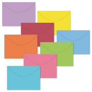 Colored Envelope Value Pack with Seals