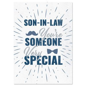 To Son-in-Law on Father's Day Card