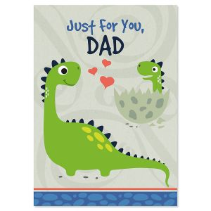 Just for Dad Father's Day Card