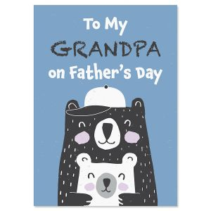 To My Grandpa on Father's Day Card