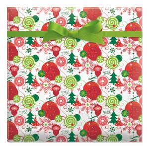 Merriment Classic Rolled Gift Wrap