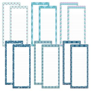 Cool Patterns Magnetic Notepads