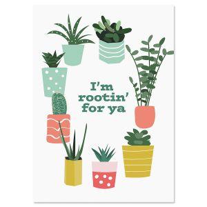 Rootin' For Ya Friendship Card