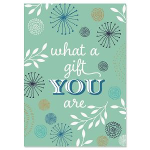 You're The Gift Friendship Card