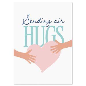 Air Hug Friendship Card