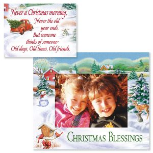Christmas Photo Frame with Magnet