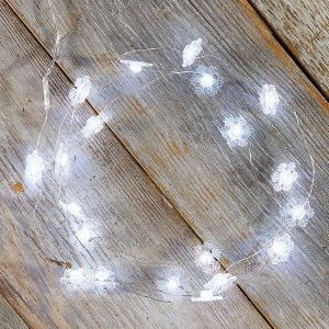 Snowflakes LED String Lights