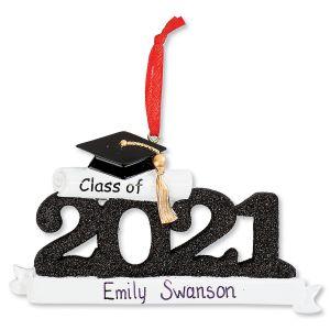 2021 Graduate Personalized Ornament