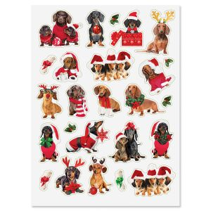 Holiday Hounds Stickers