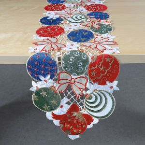 Ornament Runner with Bows