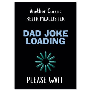 Dad Joke Personalized Birthday Card