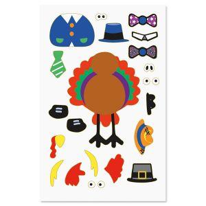 Design Your Own Turkey Stickers
