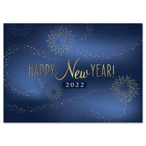 2022 Happy New Year Greeting Cards - BOGO