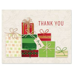 Holiday Gift Thank You Cards - BOGO