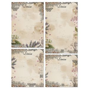 Provincial Garden Personalized Notepads
