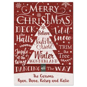 Messages of Christmas Cards