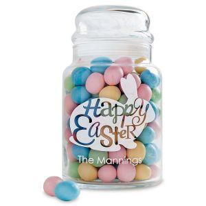 Easter Personalized Treat Jar