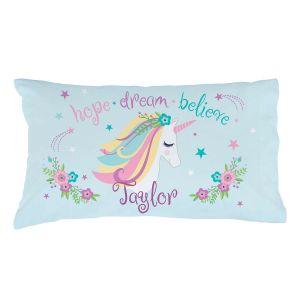 Unicorn Personalized Pillow Case