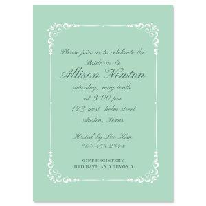 Personalized Splendor Invitations