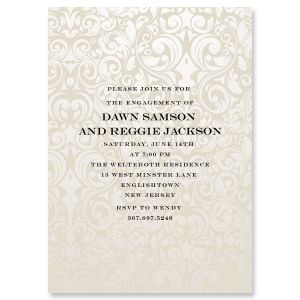 Personalized Passion Engagement Invitation