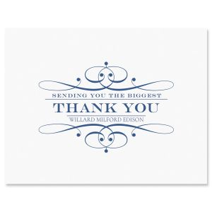 Personalized Elegant Thank You Cards