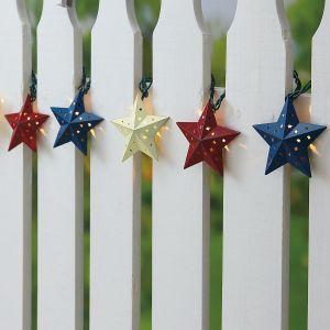 Country Star String Lights