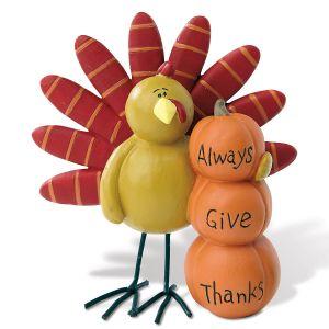 Always Give Thanks Figurine
