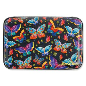 Laurel Burch Butterflies RFID-Safe Armored Wallet