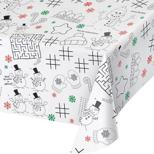 Kids' Christmas Activity Table cover