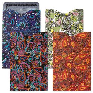 Paisley RFID Credit Card Sleeves
