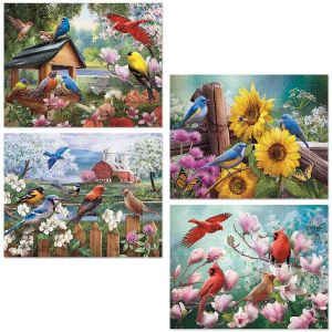 North American Songbird Puzzles