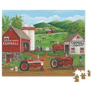 Farmall 4-in-1 Puzzle