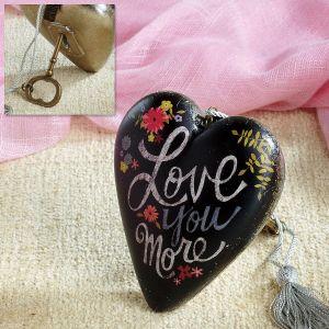 Love you More Art Heart