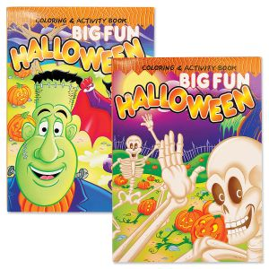 Halloween Coloring & Activity Books