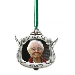 """""""In Loving Memory"""" Photo Frame Ornament"""
