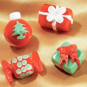 Christmas Gift Glass Scatters