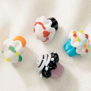 Glass Cupcake Skatters