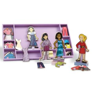 Magnetic Wooden Dress-Ups  by Melissa & Doug®
