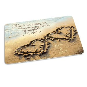 Two Hearts Doormat