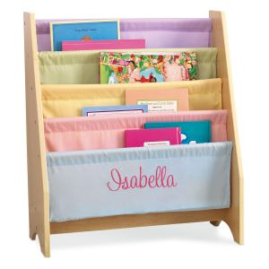 Soft Canvas Pastel Sling Shelf