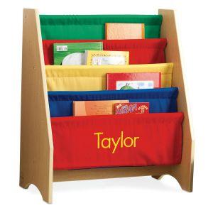 Soft Canvas Primary Sling Shelf