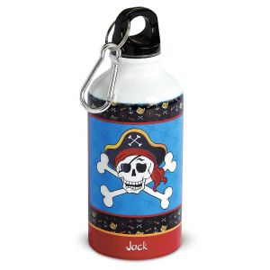 Pirate Personalized Kids' Water Bottle