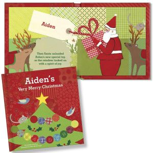 My Very Merry Christmas Personalized Storybook