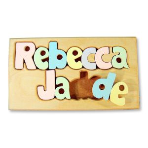 Personalized Double Name Board 9-12 Letters