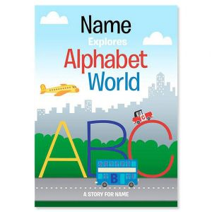 Personalized Alphabet World Storybook