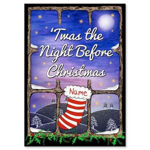 Personalized Twas the Night Before Christmas Storybook