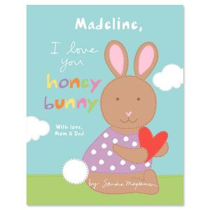I Love You Honey Bunny Personalized Storybook