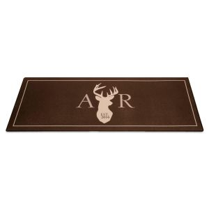 Personalized Deer Doormat